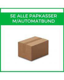 Alle papkasser m/ automatbund