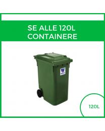 Alle 120 L containere