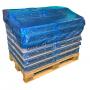 Blå europalle SPEEDCAP® hætter, 850x1250x250 mm. 25 my