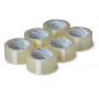 PP akryl tape 25mm x 66m. 25my. Low Noise