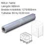Transparente hætter 1270+850x900mm. 50my